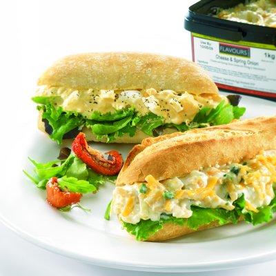 Sandwich Fillings - Egg, Cheese & Vegetarian